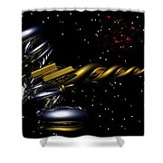 Shoot For The Stars Shower Curtain