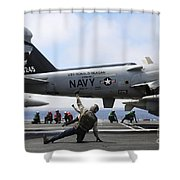 Shooters Signal Satisfactory Final Shower Curtain