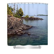 Shore Of Isle Royale Shower Curtain