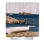 Shoreline Boat Shower Curtain