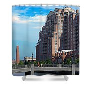 Shot Tower - Baltimore Shower Curtain