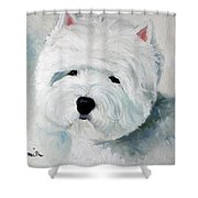 Show Dog  Shower Curtain