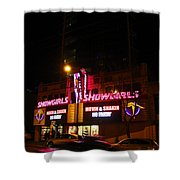 Showgirls Moving And Shaking Shower Curtain