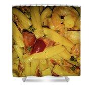 Shrimp N Pasta Shower Curtain