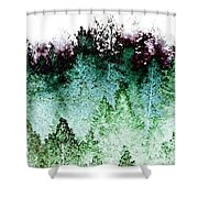 Shrouded In Fog Shower Curtain