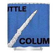Shuttle Columbia Shower Curtain