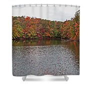 Sibley Pond Shower Curtain