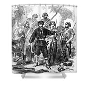 Sicily: Guerrillas, 1860 Shower Curtain