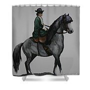 Sidesaddle Shower Curtain