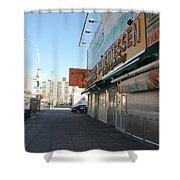 Sidewalks Of Gum Shower Curtain