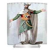 Sidy Hafsan, Bey Of Tripoli, 1816 Shower Curtain