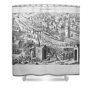 Siege Of Orleans, 1428-1429 Shower Curtain