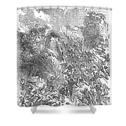 Siege Of Waterford, 1169 Shower Curtain