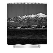 Sierra Blanca Shower Curtain