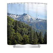 Sierra First Snow Shower Curtain