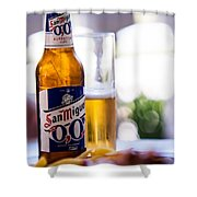 Siesta Time I. Beer Sun Miguel Shower Curtain