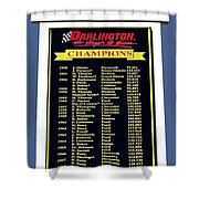 Sign Of Champions Shower Curtain