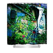 Sign Wall Shower Curtain