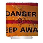 Signs Of Danger Shower Curtain