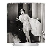 Silent Still: Lingerie Shower Curtain