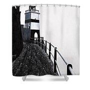 Silhouette 1 Shower Curtain
