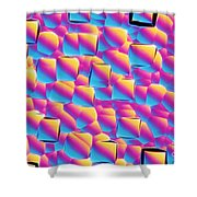 Silicon Wafer Shower Curtain