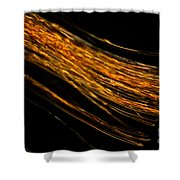 Silk Fiber Shower Curtain