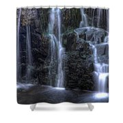 Silk  Shower Curtain by Jeff Bord
