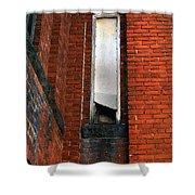 Silk Mill Soot Shower Curtain