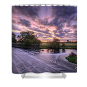 Silky Steps Shower Curtain