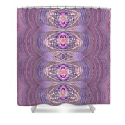 Silky Violet Shower Curtain
