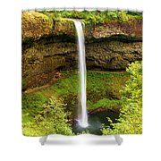 Silver Falls South Falls Shower Curtain