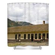 Silverton Depot Shower Curtain