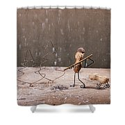 Simple Things - Christmas 04 Shower Curtain