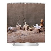 Simple Things - Christmas 05 Shower Curtain