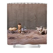 Simple Things - Christmas 06 Shower Curtain