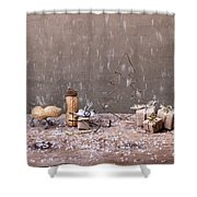 Simple Things - Christmas 07 Shower Curtain