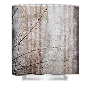 Simple Things Abstract Shower Curtain