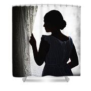 Simplicity Shower Curtain by Margie Hurwich