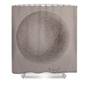 Simply A Ball Shower Curtain