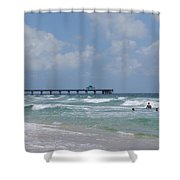 Simply Sea Shower Curtain