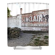 Sinclair Motor Oil Shower Curtain
