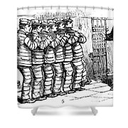 Sing Sing Prison, 1878 Shower Curtain by Granger