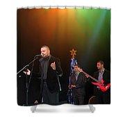 Singer Hasan Ammar In Bethlehem Shower Curtain