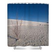Single Bush 2 Shower Curtain