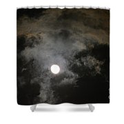 Sinister Skies Shower Curtain