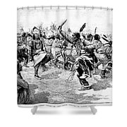 Sioux Ghost Dance, 1890 Shower Curtain