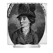 Sir Banastre Tarleton Shower Curtain