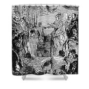 Sir Francis Drake (1540-1596) Shower Curtain by Granger
