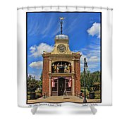 Sir John Bennett Clock Shop Shower Curtain